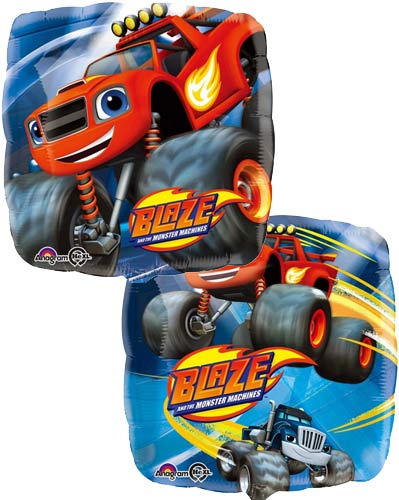 Blaze And The Monster Machines Double-Sided Helium Filled Foil Balloon
