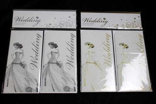 Wedding Day Money Wallets x2