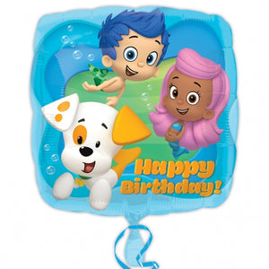 Bubble Guppies Happy Birthday Helium Filled Foil Balloon