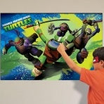 Teenage Mutant Ninja Turtles Pin The Mask Party Game