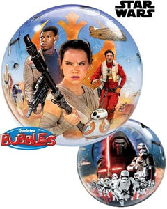 Star Wars 2-Sided Helium Filled Single Bubble Balloon
