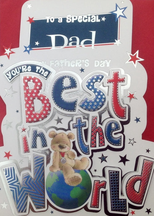 To A Special Dad Father's Day Greeting Card
