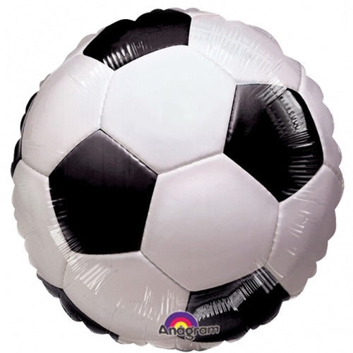 Football/Soccer Helium Filled Foil Balloon