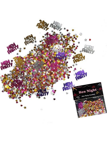 Hen Party Metallic Confetti 14g