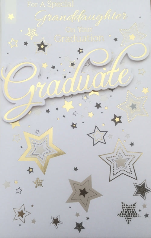 For A Special Granddaughter On Your Graduation Greeting Card