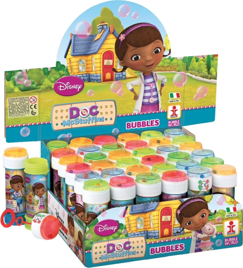 Doc McStuffins Maze Top Bubble Tub 60ml