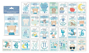 30 Baby Boy Memorable Moments Cards