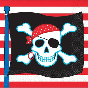 Pirate Party Napkins x20