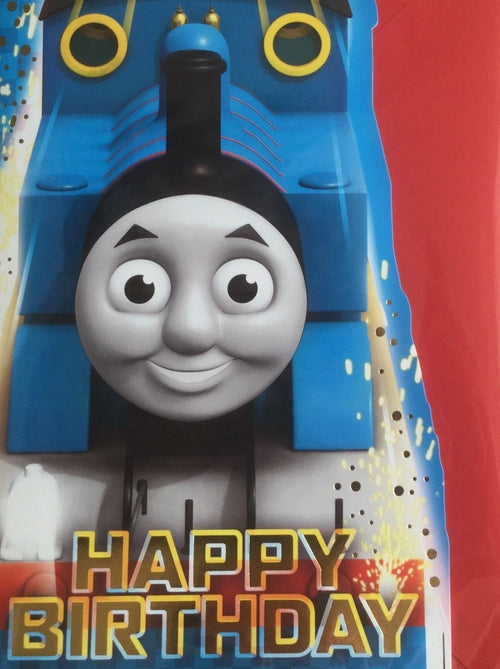 Thomas The Tank Engine Happy Birthday Greeting Card