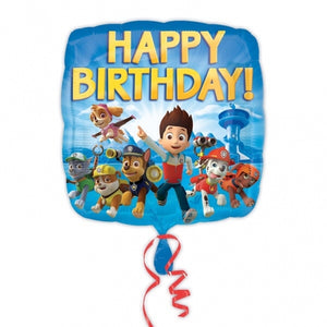 Paw Patrol Happy Birthday Helium Filled Foil Balloon