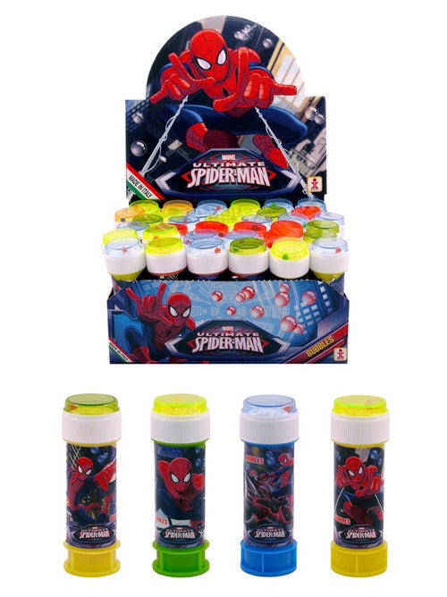 Spiderman Maze Top Bubble Tub 60ml