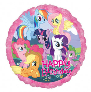My Little Pony Happy Birthday Helium Filled Foil Balloon