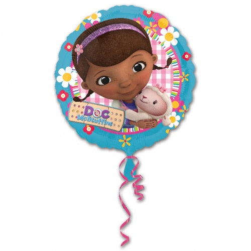 Doc McStuffins Helium Filled Foil Balloon