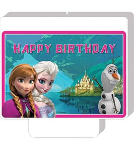 Disney Frozen Happy Birthday Candle