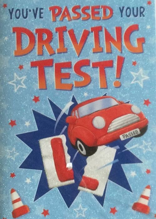 You've Passed Your Driving Test Greeting Card