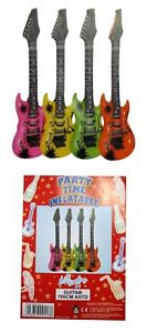 Inflatable Guitar 106cm In 4 Assorted Colours