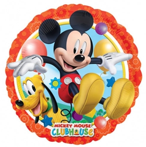 Mickey Mouse And Pluto Helium Filled Foil Balloon