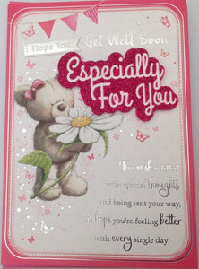 Hope You Get Well Soon Greeting Card