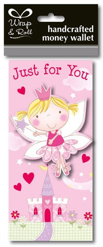 Just For You Fairy Handcrafted Money Wallet