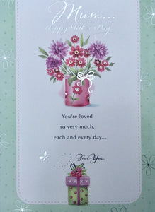 Mum .... Happy Mother's Day Greeting Card