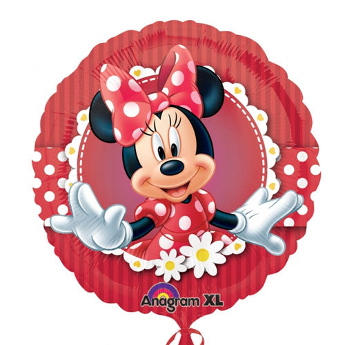 Minnie Mouse Helium Filled Foil Balloon