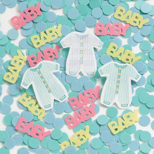 Printed Baby Clothes Line Confetti 14g