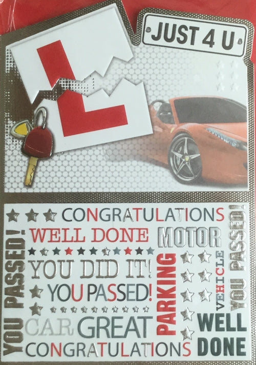 You've Passed ! Congratulations! Greeting Card