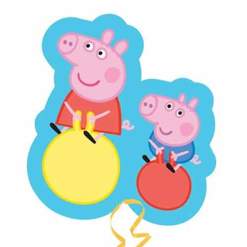 Peppa Pig Supershape Helium Filled Foil Balloon