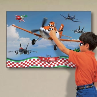Disney Planes Pin The Plane Party Game