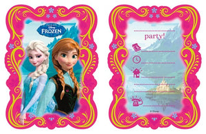 Disney Frozen Invitations And Envelopes (6 Pack)