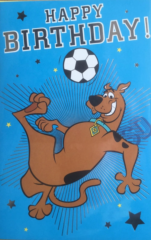 Scooby Doo Happy Birthday Greeting Card
