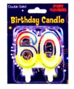 Number Candle Age 60