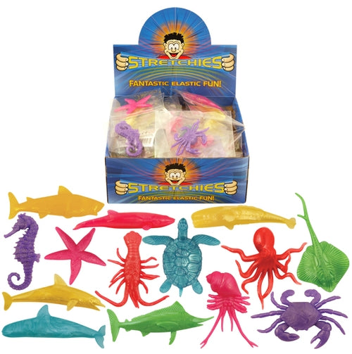 Stretchy Sea Creatures In Assorted Colours And Designs