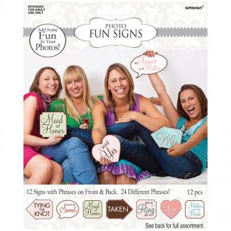 Hen Party Photo Fun Signs