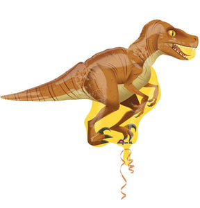 Raptor Supershape Helium Filled Foil Balloon