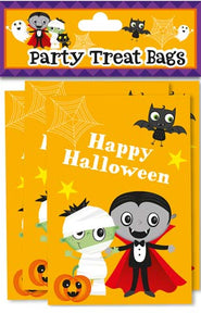 Halloween Party Treat Bags x10