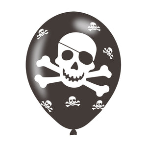 Pirate Latex Balloons (6 Pack)