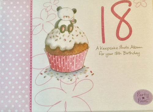 18th Birthday Keepsake Photo Album
