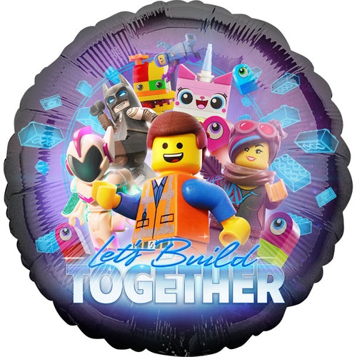 The Lego Movie 2 Helium Filled Foil Balloon