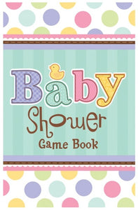 Baby Shower Party Game Book
