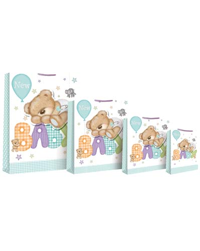 New Baby Bear Large Gift Bag