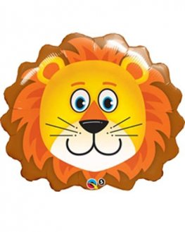 Lion Supershape Helium Filled Foil Balloon