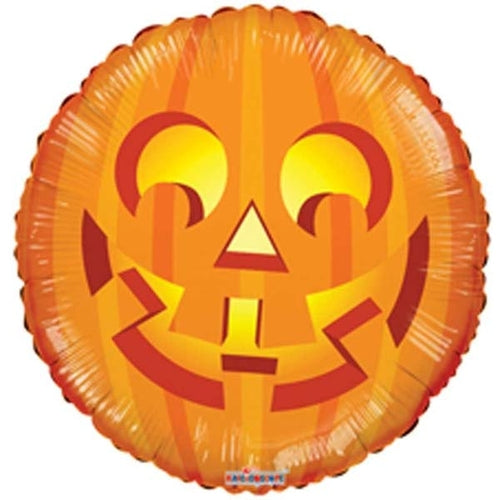 Pumpkin Helium Filled Foil Balloon