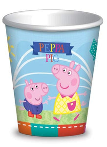 Peppa Pig Paper Party Cups x8