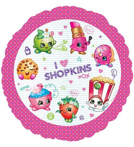 Shopkins Helium Filled Foil Balloon