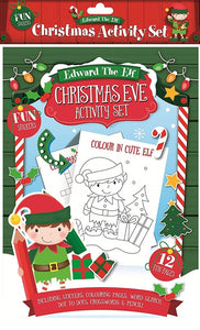 Edward The Elf Christmas Eve Activity Set