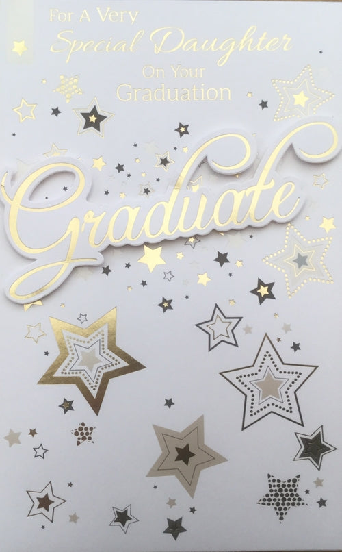For A Very Special Daughter On Your Graduation Greeting Card