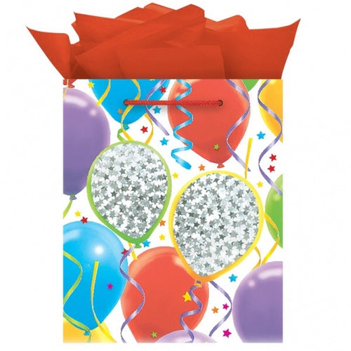 Balloon Confetti Medium Gift Bag