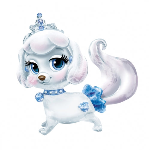 Cinderella Palace Pets Pumpkin Puppy Helium Filled Air Walker Foil Balloon
