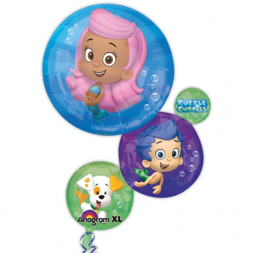 Bubble Guppies Supershape Helium Filled Foil Balloon